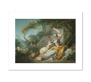 Jean-Honoré Fragonard, The Shepherdess, ca. 1750/52, Fine Art Prints in various sizes by Museums.Co