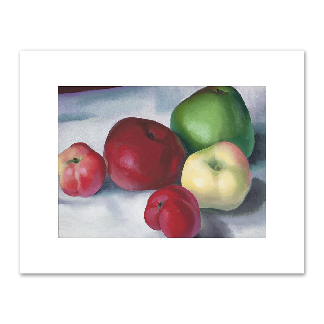 Apple Family 3 by Georgia O'Keeffe