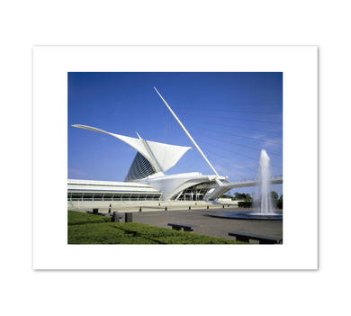 Milwaukee Art Museum, Photo credit: Jeff Millies of Hedrich Blessing, Chicago, Fine Art Prints in various sizes by Museums.Co