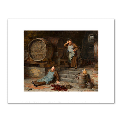Eduard von Grützner, The Catastrophe, 1892, Fine Art Prints in various sizes by Museums.Co