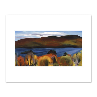 Lake George Autumn by Georgia O'Keeffe