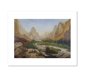 Bickmore, Yosemite Valley, 1876, Fine Art Prints in various sizes by Museums.Co