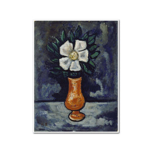 White Flower by Marsden Hartley, Framed Art Print