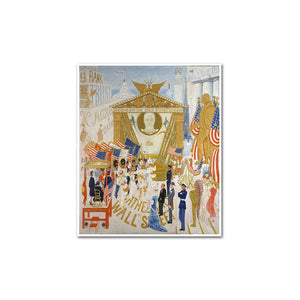 The Cathedrals of Wall Street by Florine Stettheimer Artblock
