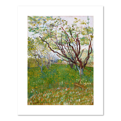 Vincent van Gogh, The Flowering Orchard, 1888, Fine Art Prints in various sizes by Museums.Co