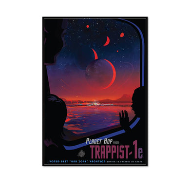 Planet Hop from Trappist-1e Art Block