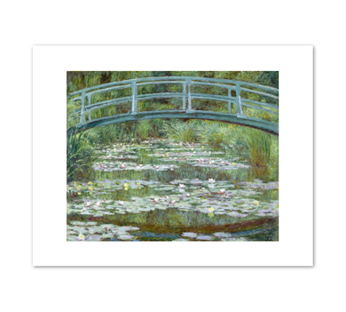 Claude Monet, The Japanese Footbridge, 1899, Fine Art Prints in various sizes by Museums.Co