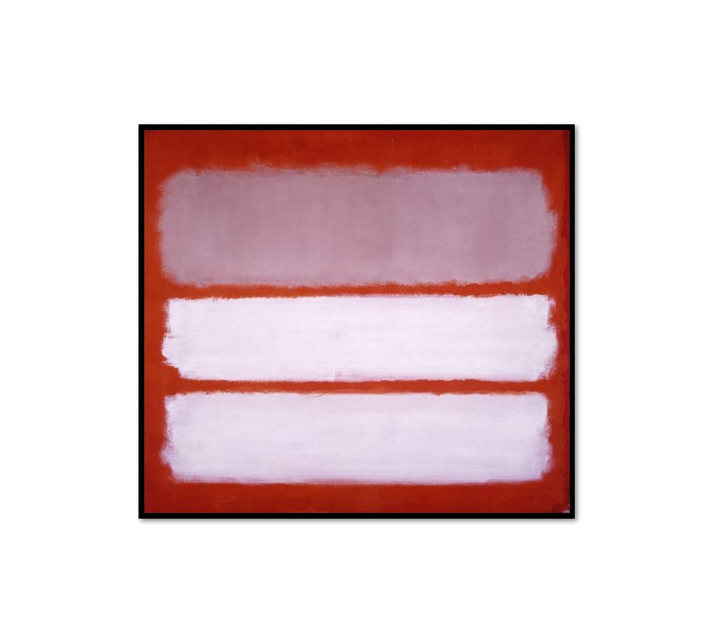 Mark Rothko, Untitled, 1958, Framed Art Print with black frame in 3 sizes by Museums.Co