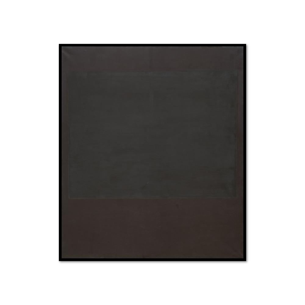 Mark Rothko, No. 4, 1964, Framed Art Print with black frame in 3 sizes by Museums.Co