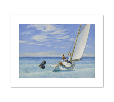 Ground Swell by Edward Hopper Archival Print