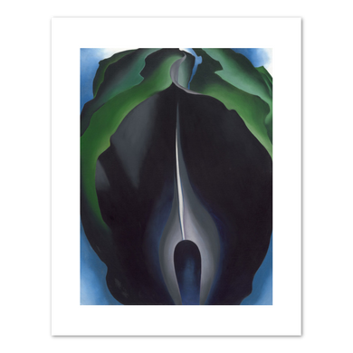Georgia O'Keeffe, Jack-in-the-Pulpit No. IV, 1930, Fine Art Prints in various sizes by Museums.Co