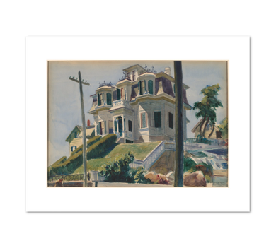 Haskell's House by Edward Hopper Archival Print
