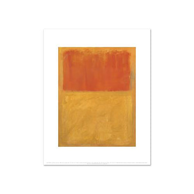 Mark Rothko, Orange and Tan, Fine Art Prints in various sizes by Museums.Co