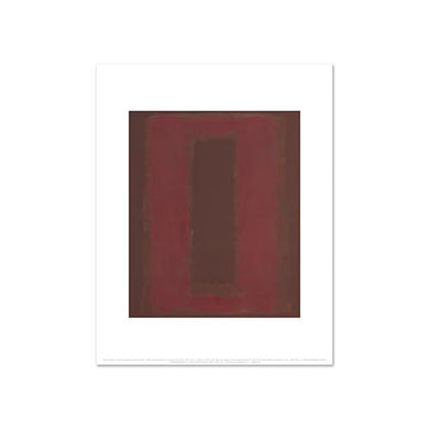 Mark Rothko, Untitled (Seagram Mural sketch), Fine Art Prints in various sizes by Museums.Co