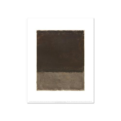 Mark Rothko, Untitled (Brown and gray), Fine Art Prints in various sizes by Museums.Co