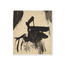Franz Kline, Untitled, 1950s, Framed Art Print with white frame in 3 sizes by Museums.Co