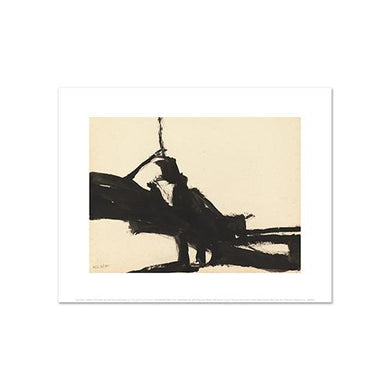Franz Kline, Untitled, 1950, Fine Art Prints in various sizes by Museums.Co