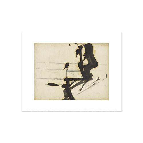 Franz Kline, Untitled, 1950s, Fine Art Prints in various sizes by Museums.Co
