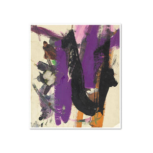 Franz Kline, Untitled, possibly 1960, Framed Art Print with white frame in 3 sizes by Museums.Co