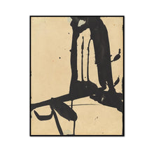 Franz Kline, Untitled, 1940s-1950s, Framed Art Print with black frame in 3 sizes by Museums.Co