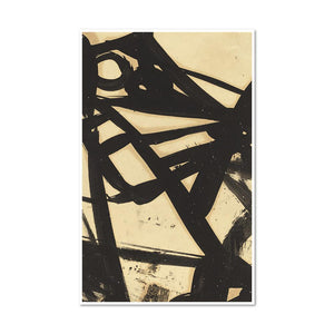 Franz Kline, Untitled, 1940s-1950s, Framed Art Prints with white frame in 3 sizes by Museums.Co