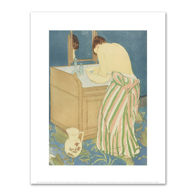 Mary Cassatt, Woman Bathing, 1890-1891, Fine Art Prints in various sizes by Museums.Co