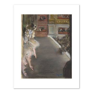 Edgar Degas, Dancers at the Old Opera House,  c. 1877, Fine Art Prints in various sizes by Museums.Co