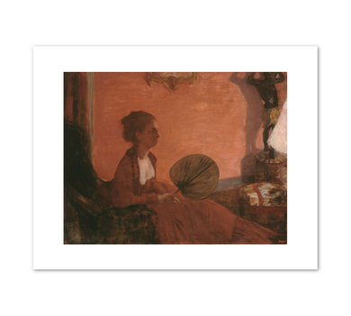 Edgar Degas, Madame Camus,  1869/1870, Fine Art Prints in various sizes by Museums.Co