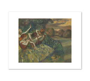 Edgar Degas, Four Dancers, c. 1873, Fine Art Prints in various sizes by Museums.Co