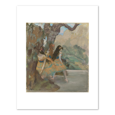 Edgar Degas, Ballet Dancers, c. 1877, Fine Art Prints in various sizes by Museums.Co