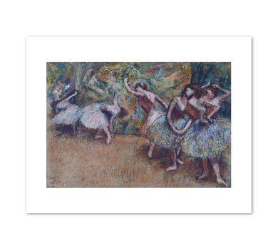 Edgar Degas, Ballet Scene, c. 1907, Fine Art Prints in various sizes by Museums.Co