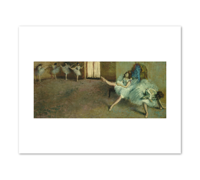 Edgar Degas, Before the Ballet, 1890/1892, Fine Art Prints in various sizes by Museums.Co