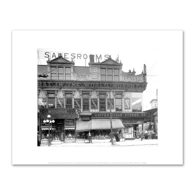 Granville W. Pullis, Interbrough Rapid Transit Co., Fulton Street and Myrtle Avenue, Brooklyn, 9/19/1915, Fine Art Prints in various sizes by Museums.Co