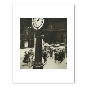 Berenice Abbott, Tempo of the City: I. Fifth Avenue and 44th Street, Manhattan, 1938, Fine Art Prints in various sizes by Museums.Co