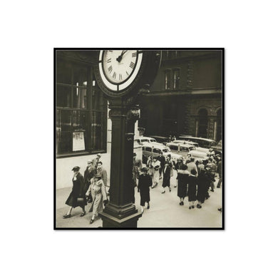 Tempo of the City: I. Fifth Avenue and 44th Street by Berenice Abbott Artblock