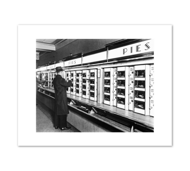 Berenice Abbott, Automat, 977 Eighth Avenue, Manhattan, Fine Art Prints in various sizes by Museums.Co