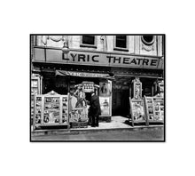 Lyric Theatre, Third Avenue between 12th and 13th street, Manhattan by Berenice Abbott Artblock