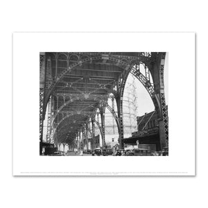 Berenice Abbott, Under Riverside Drive Viaduct, 125th Street at 12th Avenue, Manhattan. From Changing New York, a Federal Arts Project, 1937, Fine Art Prints in various sizes by Museums.Co