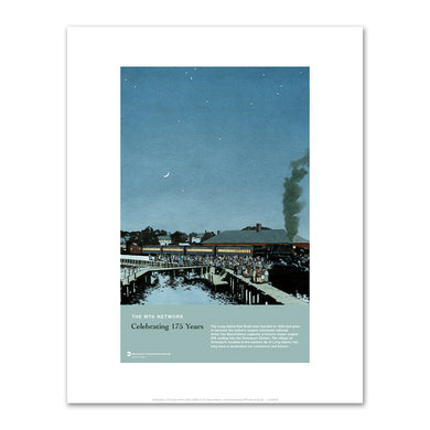 Celebrating 175 Years of the LIRR (2008), Fine Art Prints in various sizes by Museums.Co