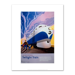 Daniel Kirk, Twilight Train, 2000, Fine Art Prints in various sizes by Museums.Co