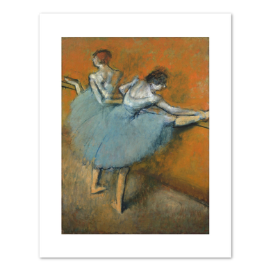 Hilaire-Germain-Edgar Degas, Dancers at the Barre, c. 1900, Fine Art Prints in various sizes by Museums.Co