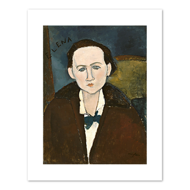 Amedeo Modigliani, Elena Pavlowski, 1917, Fine Art Prints in various sizes by Museums.Co