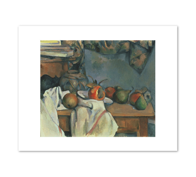 Paul Cézanné, Ginger Pot with Pomegranate and Pears, 1893, Fine Art Prints in various sizes by Museums.Co
