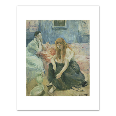 Berthe Morisot, Two Girls, c. 1894, Fine Art Prints in various sizes by Museums.Co