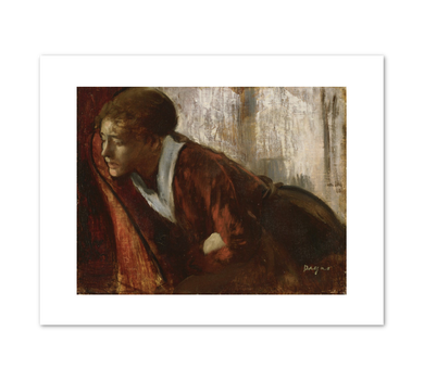 Hilaire-Germain-Edgar Degas, Melancholy, late 1860s, Fine Art Prints in various sizes by Museums.Co