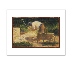 Georges-Pierre Seurat, The Stone Breaker, 1882, Fine Art Prints in various sizes by Museums.Co