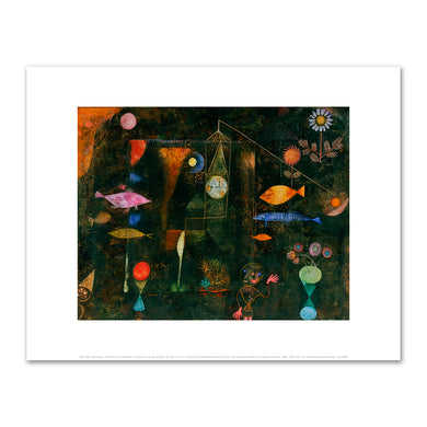 Paul Klee, Fish Magic, 1925, Philadelphia Museum of Art. Fine Art Prints in various sizes by Museums.Co