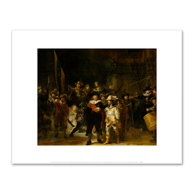 The Night Watch (De Nachtwacht) by Rembrandt Harmensz van Rijn