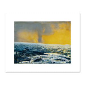 Waterspout, Yellow Sky by Alexis Rockman