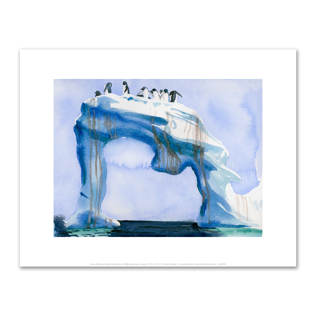 Alexis Rockman, Untitled (Antarctica 4), 2008, Fine Art Prints in various sizes by Museums.Co